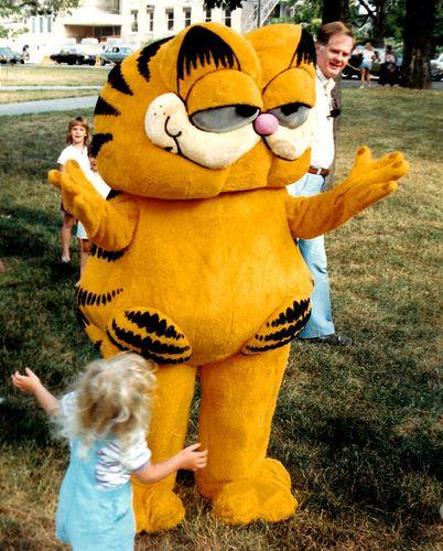 Hey Its Garfield!