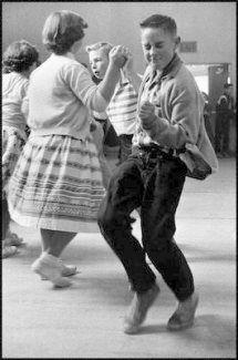 1950 Junior High School Sock Hop •