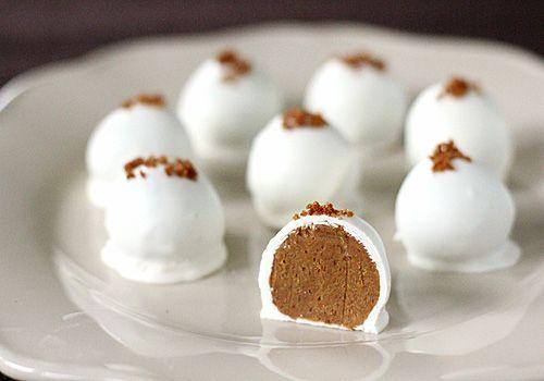 Pumpkin Cream Cheese Truffles! omg  omg for sure