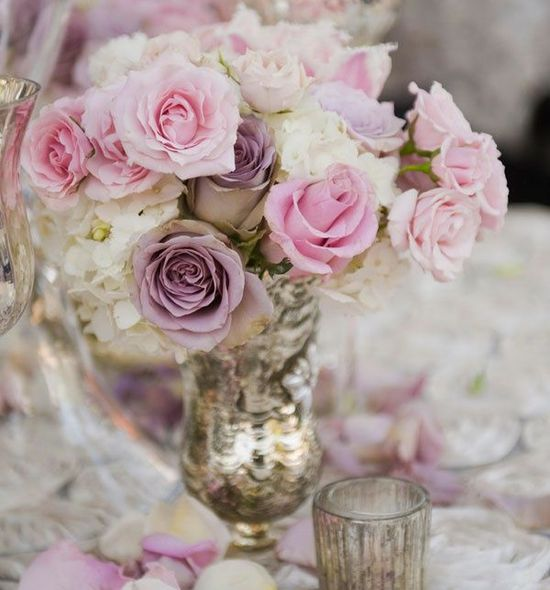 The Perfect Romantic #Wedding #Centerpiece Ideas. To see more wedding ideas: www.modwedding.com