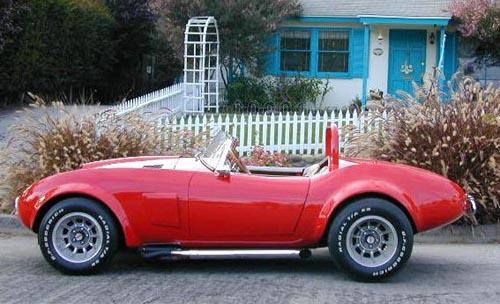 Antique Sports cars show at Watkins Glen