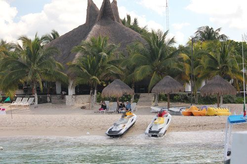 Nachi Cocom beach resort in Cozumel