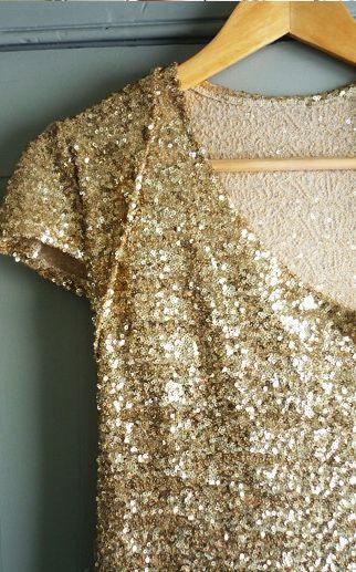 Gold + Sparkle