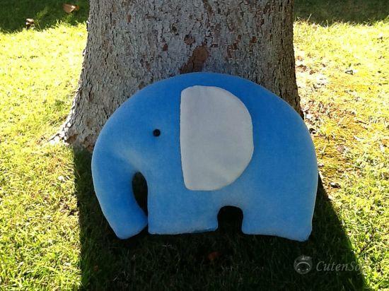 Stuffed Elephant  Stuffed Animals Plush toy Animal by CutenSoft, $30.00