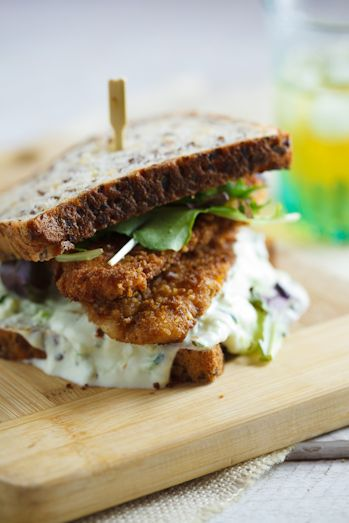 Special K crusted chicken sandwich