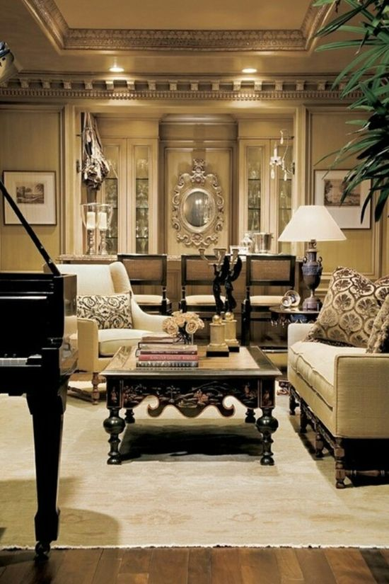 Fancy living room design