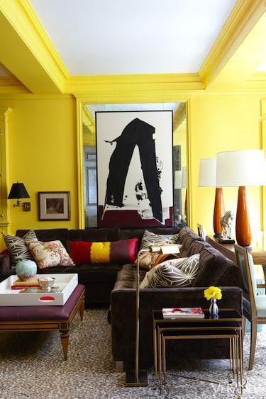 Interesting Details in living room design by Nick Olsen