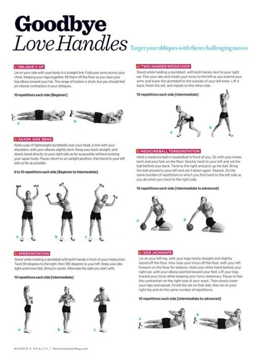 love handle workout fitness