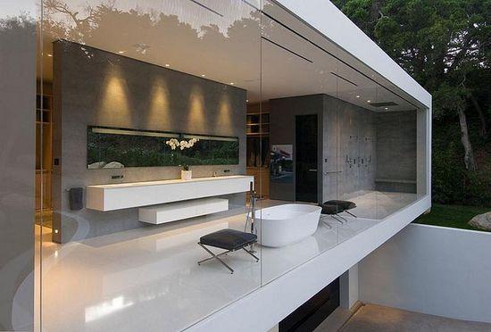 Glass Pavilion in California by Steve Hermann Design