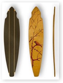 Plum - handmade longboards