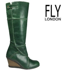 green boot - so cool