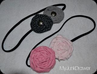 handmade headbands from fabric scraps
