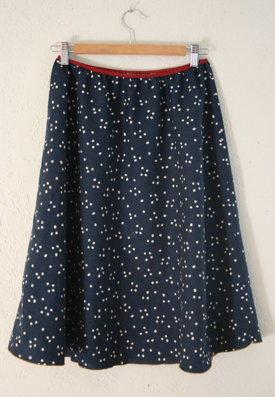 DIY: 5-minute skirt