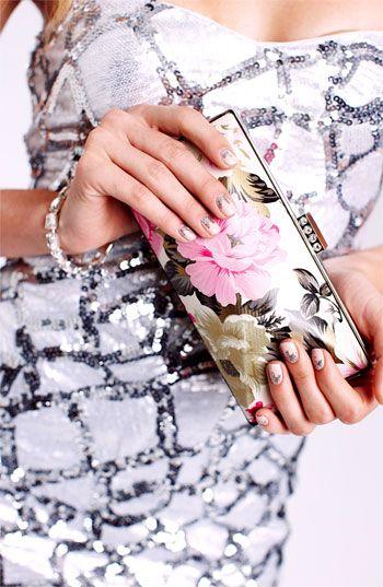 Tasha Flower Box Clutch