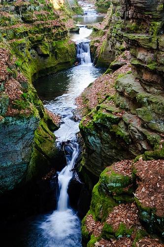Skillet Creek outside Baraboo, Wisconsin by Art Walaszek via Flickr