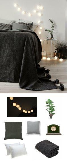 #Simple #bedroom #decor #design #home #adoredecor #lights