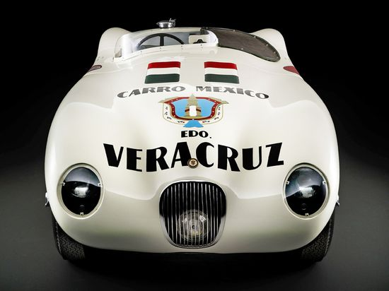JAGUAR C TYPE CARRERA PANAMERICANA    by FLUIDIMAGES