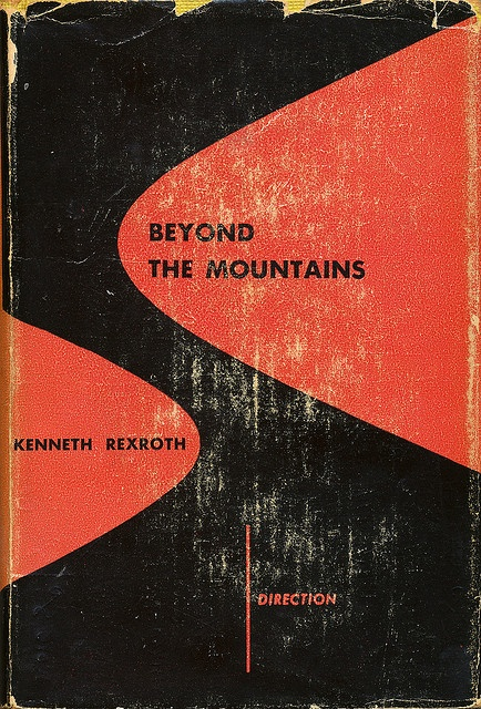 :: Beyond the Mountains book jacket by Alvin Lustig ::