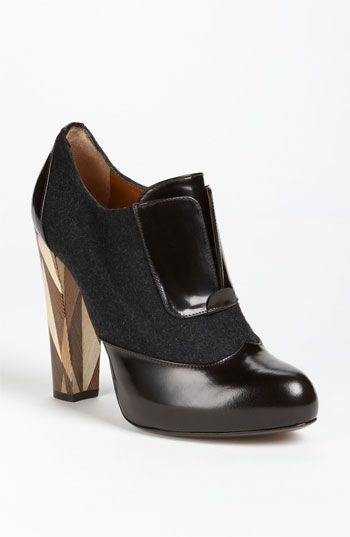 Fendi 'Wuthering Heights' Wood Heel Bootie available at #Nordstrom