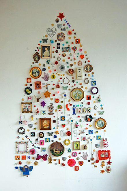 Jane's Wall Collection Christmas Tree