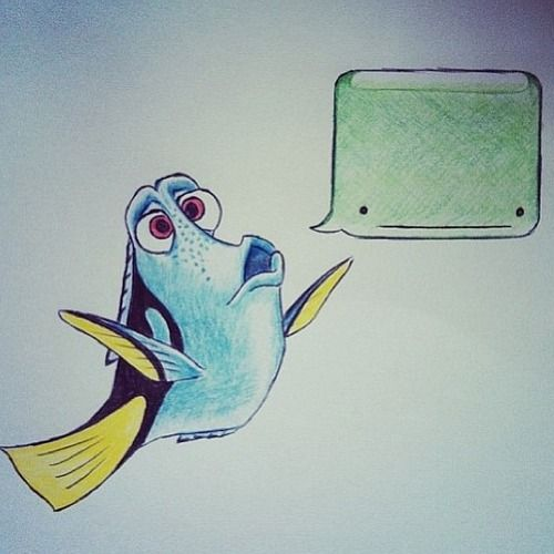 Dory speaking whale.