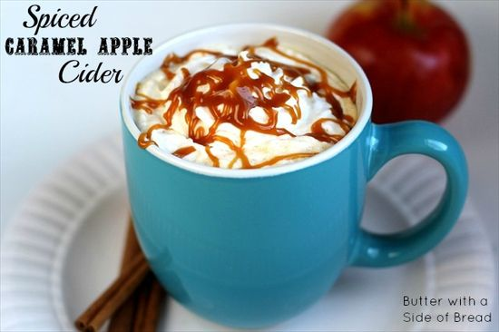 Spiced Caramel Apple Cider~