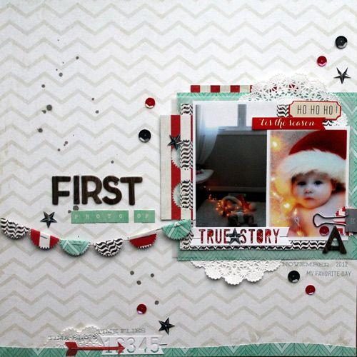First Photo Op - Scrapbook.com