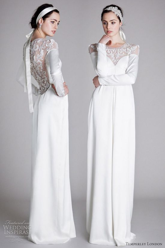 Temperley London Spring 2012 Ophelia bridal collection