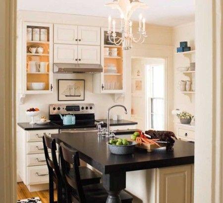 Minimalist Small Kitchen Interior Design Ideas - Kitchen