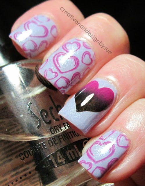 Creative Nail Design by Sue #nail #nails