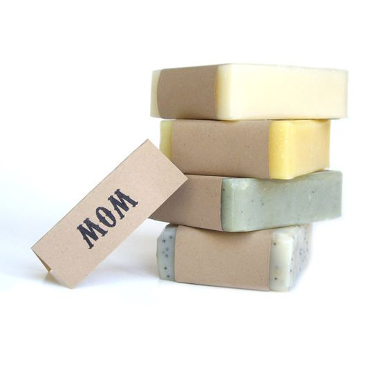 Soap gift set  Vegan Soap womens gift set Unscented by RightSoap, $20.00