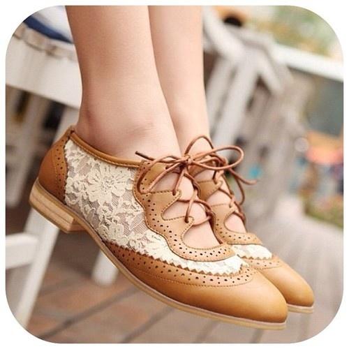 Lace Vintage Shoes