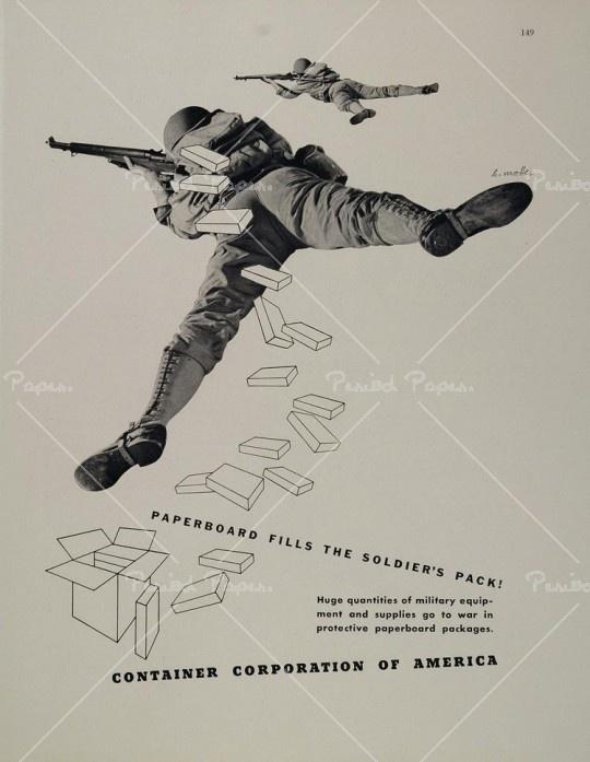 Container Corporation America - Herbert Matter, 1943