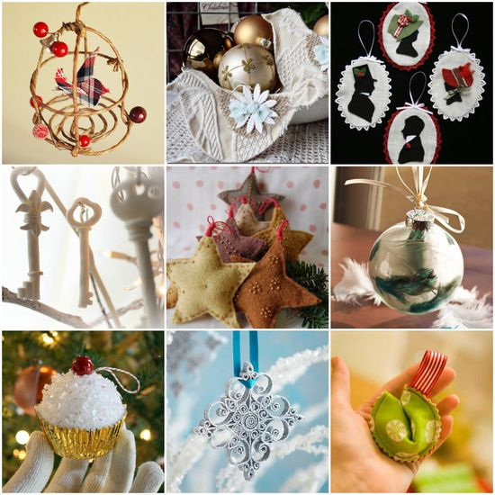 When other presents come and go ornaments stick around for lifetimes - maybe longer - always making a special appearance on the Christmas tree once a year. Instead of buying a bunch of ornaments this year try making a family heirloom: 25 Beautiful Ornaments to Make Right Now.