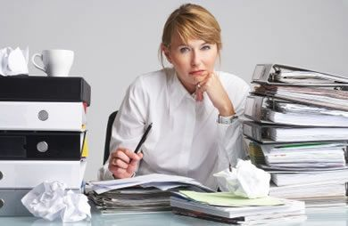 How to Avoid On-the-Job Weight Gain. A must-read for anyone who works a desk job!