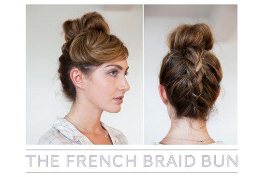 French Braid Bun