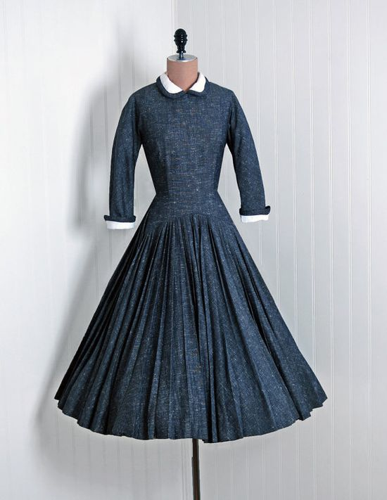 vintage day dress.