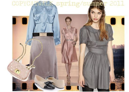 """""""Natural Coloring: Soft Summer, Clothing Style: Classic Gamine, Fashion Season: Spring/Summer 2011"""""""