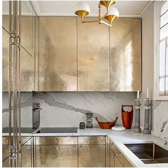 #47parkavenue #loves #gold #kitchen  #interior #interiordesign