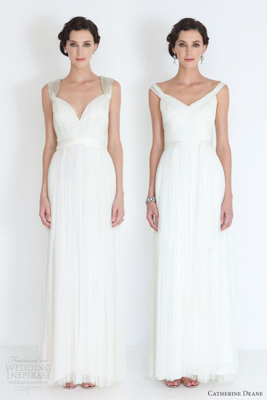 catherine deane bridal 2012 dasha cristina wedding dresses with straps