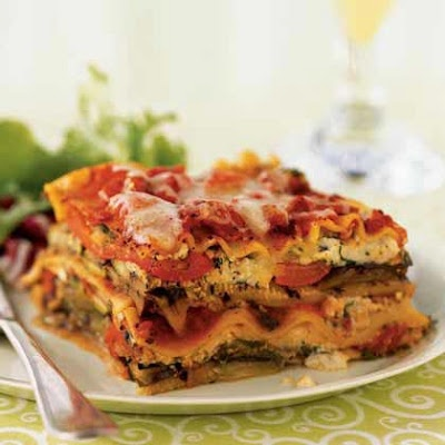 Grilled Vegetable Lasagna - Recipes, Dinner Ideas, Healthy Recipes & Food Guide