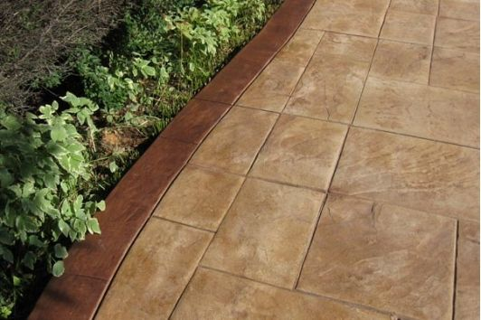 Stamped Concrete - Home and Garden Design Idea's