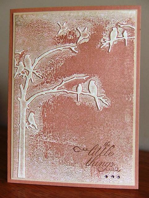 Cuttlebug/embossing folder & ink*