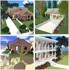 Easy Do It Yourself Landscape, Deck, Porch and Patio Design Software - Online at Plan3D.com