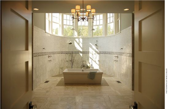 VanBrouck & Associates, Inc 2012 Detroit Home Design Awards 3rd Place - Interior Use of Tile