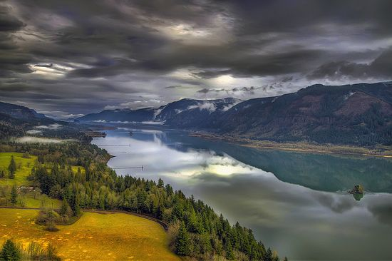 Columbia River Gorge from Cape Horn - Washington
