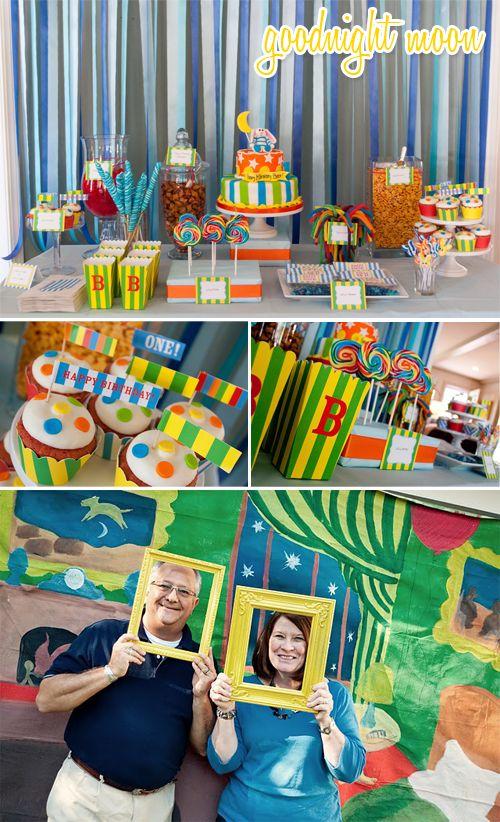 Book-themed kid birthday parties