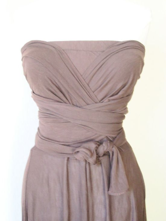 Shannon's wedding Infinity Dress in Green by Size8 on Etsy, $110.00    Maybe in Blush for bridesmaid dresses?