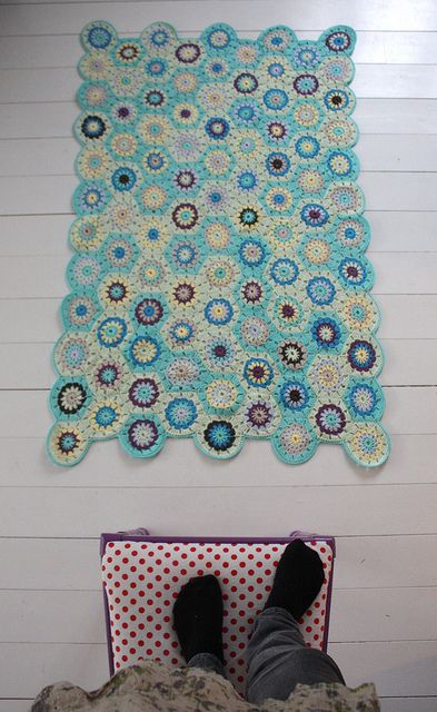 amazing crochet-love the colors!