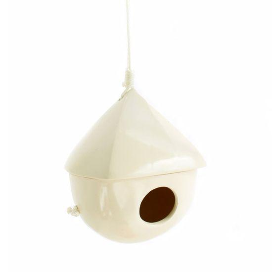 Bird House White//